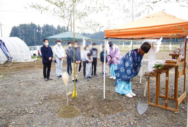 大田原市注文住宅戸野内G様邸 地鎮祭おめでとうございます!