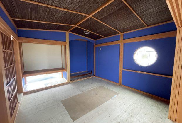 大田原市/注文住宅/上石上T様邸 群青の間の塗装終わりました!✾